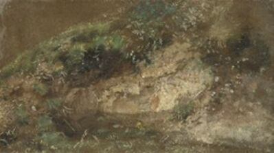 John Constable, 'Undergrowth', ca. 1821