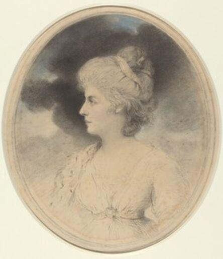 John Downman, 'Portrait of a Woman in Profile', 1791