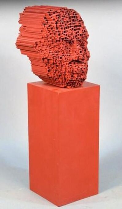 David Mach, 'Big Heid', 1993