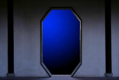 Shen Wei 沈玮 (b. 1977), 'Doorway (Blue)', 2017