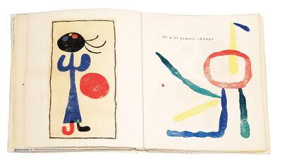 Joan Miró, ' À Toute Épreuve', 1958
