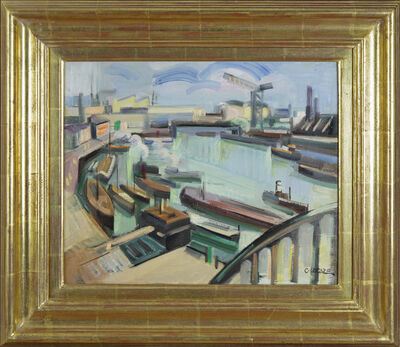 Claude Lacaze, 'Arriving at the Docks', 20th century