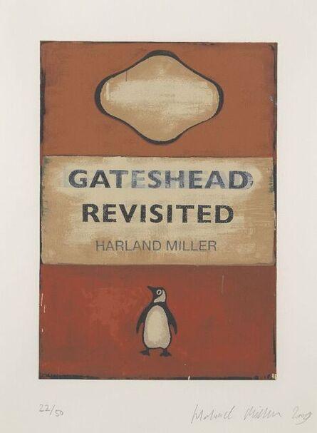 Harland Miller, 'Gateshead Revisited', 2009