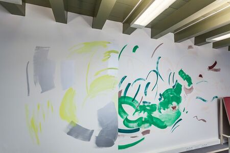 Peggy Franck, 'Anywheres: Diptych on office wall', 2014