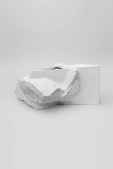 Haoyu Wu, 'New Stoneware White Porcelain Vase No.6', 2014