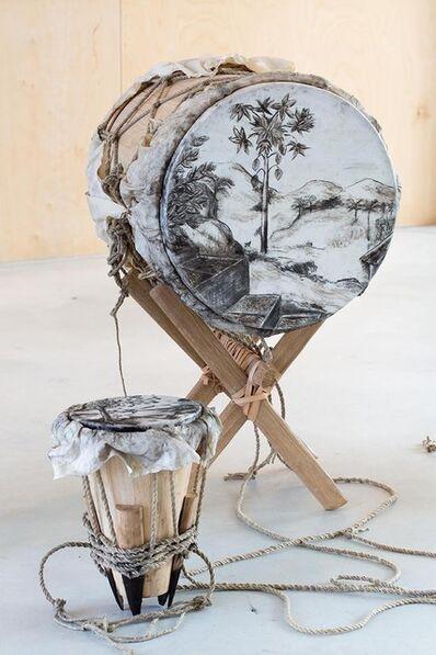 Marcos Avila Forero, 'Palenqueros - Drum Pechiche', 2013
