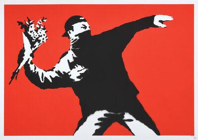 Banksy, 'Love is in the Air.', 2003