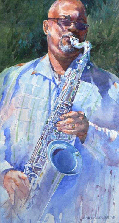 Michael Holter, 'Blues on the Green', 2019