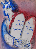 Marc Chagall, 'La Bible : Moïse', 1956