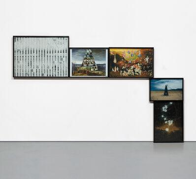 Matthew Day Jackson, 'Bullet Hole Constellation', 2008
