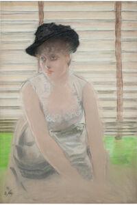 Giuseppe De Nittis, 'L'attesa (The waiting)', ca. 1880