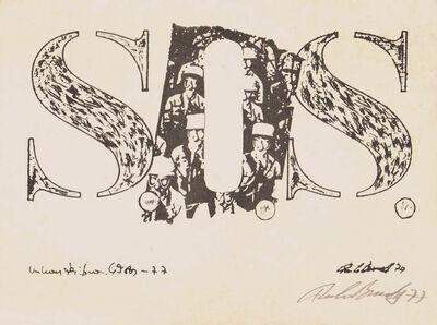 Paulo Bruscky, 'SOS'