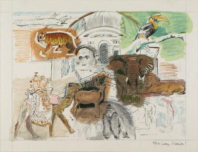 Larry Rivers, 'Bronx Zoo, New York, New York', 1983