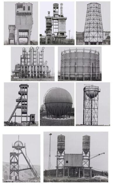Bernd and Hilla Becher, 'Industriebauten (Portfolio)', 1968