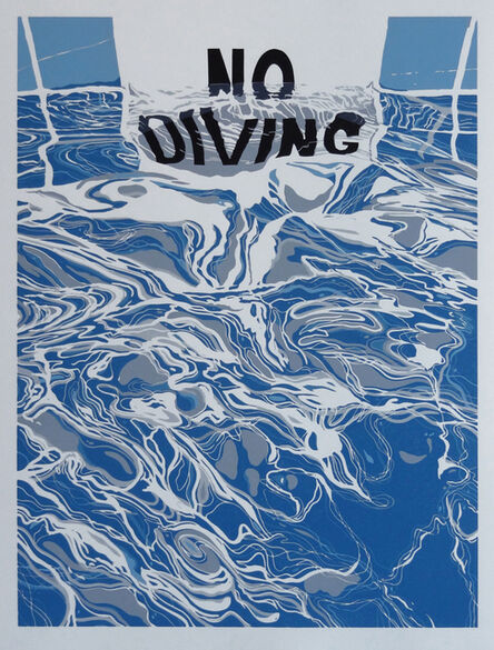 Dave Lefner, 'Rules of the Pool', 2015