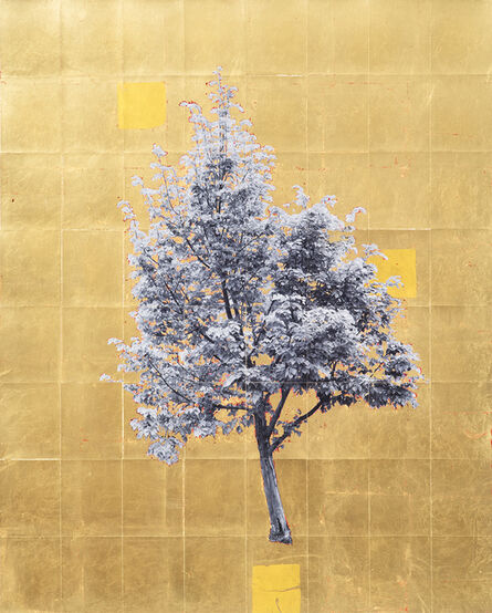 Daniel Ballesteros, 'Gold Leaf Tree No. 048', 2018