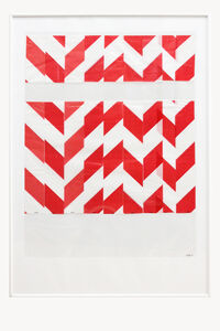 Charlotte Pann, 'Barrier Tape, Plastic Sleeve, Transparent Foil', 2017