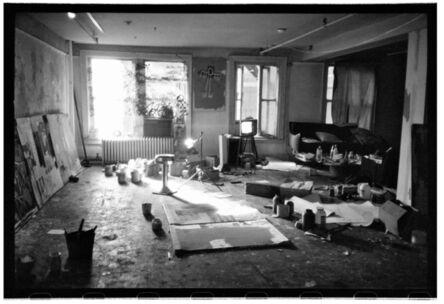 Roland Hagenberg, 'Basquiat's studio with windows', 1983