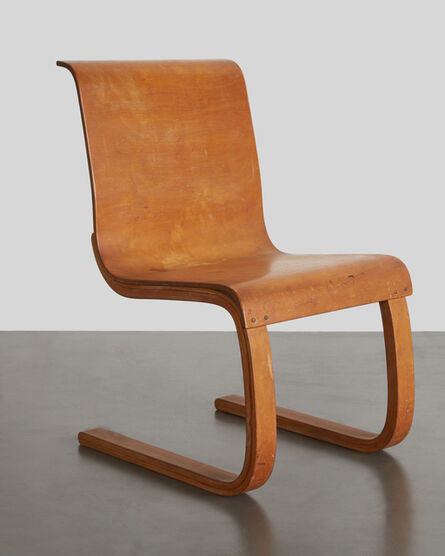 "Alvar Aalto, '""Cantilever Chair,"" Model no. 21', Designed 1932, produced c. 1938, 1947"