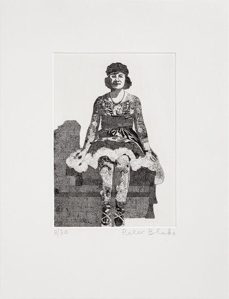 Peter Blake, 'Liberty Beauty Rose', 2014