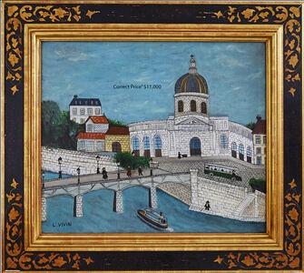 Louis Vivin, 'Le Pont Des Arts', 1920