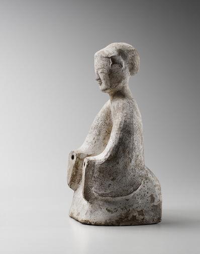 'Kneeling Earthenware Court Lady', 25 -220