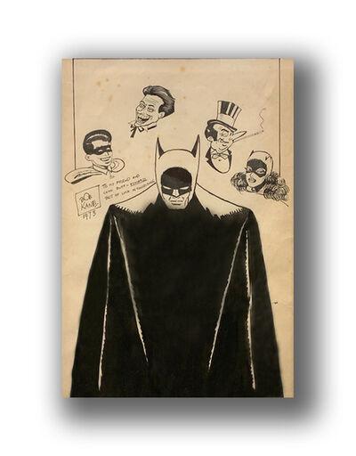 Bob Kane (1915-1998), 'Batman', 1973