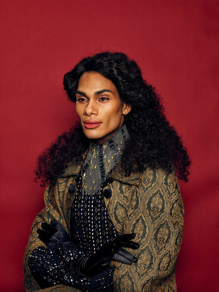 Mickalene Thomas, 'Untitled #3 (Orlando Series)', 2019