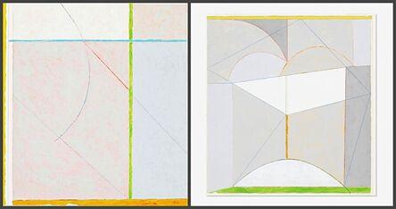 James Rosati, 'Untitled Geometric Abstraction', 1982