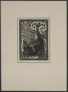 Alfonso Ossorio, 'Jonah', 1934