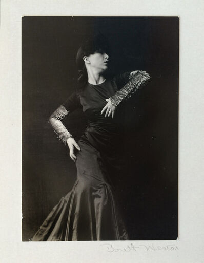 Brett Weston, '[Portrait of Carmelita Maracci]', ca. 1935