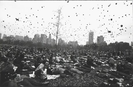 Garry Winogrand, 'Peace Demonstration, Central Park, New York', 1970