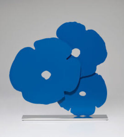 Donald Sultan, 'Blue Poppies', 2015