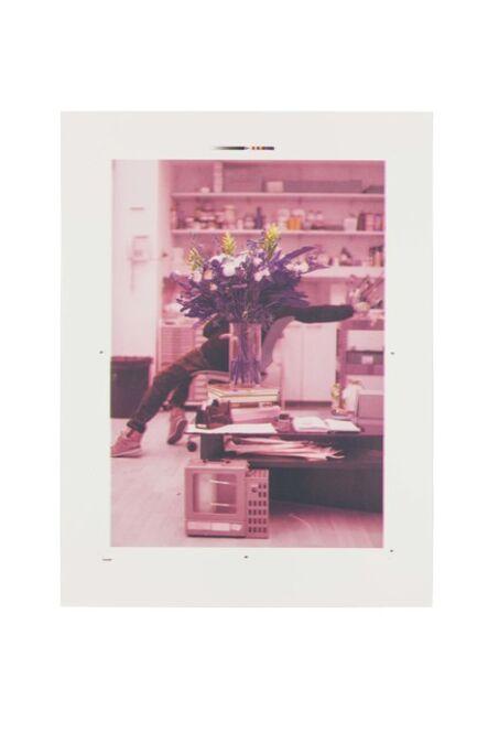 Ryan Gander, 'Portrait of a blind artist obscured by flowers ', 2014