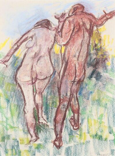 Fausto Pirandello, 'Due nudi'