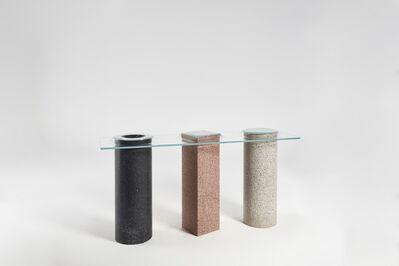 Paul Cocksedge, 'Slump Concrete Console', 2019