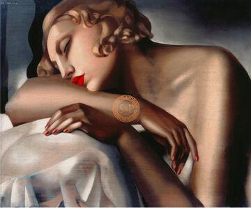 Tamara de Lempicka, 'The Sleeping Girl', 1930