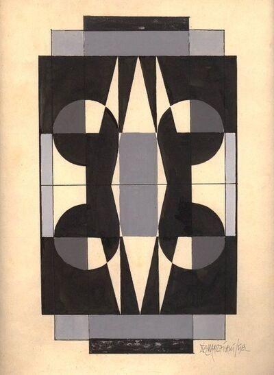 Hugo Marziani, 'Geometrico', 1958