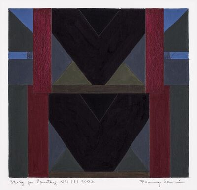 Fanny Sanin, 'Study for painting N.° 1 (1)', 2002