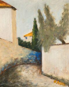 Ottone Rosai, 'Via San Leonardo', 1955