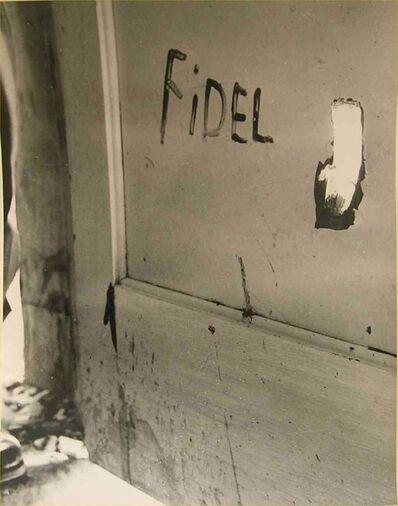 RAÚL CORRALES, 'Graffiti', 1958