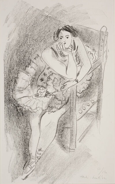 Henri Matisse, 'Dancer ', 1927