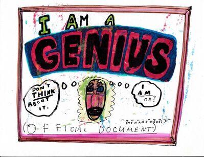 Jim Torok, 'Genius', 2016
