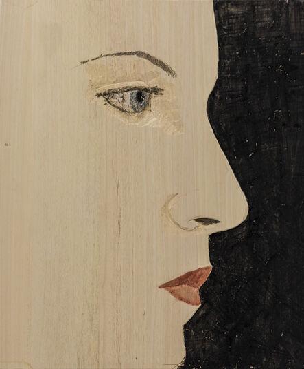 Stephan Balkenhol, 'Woman cut off (relief)', 2016