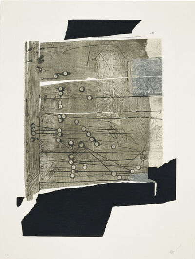 Antoni Clavé, 'Xinxetes sobre fusta, 1989, Original signed etching', 1989