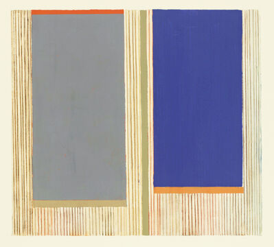 Elizabeth Gourlay, 'Gray ultramarine', 2020