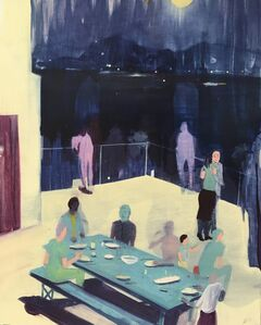 Jules de Balincourt, 'Our Families and Their Ghosts', 2015