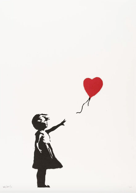 Banksy, 'Girl With Balloon - Signed ', 2004