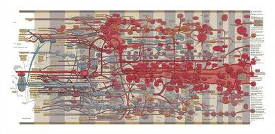 Ward Shelley, 'Extra Large Fluxus Diagram v.1', 2011