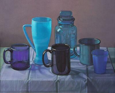 Jane Lund, 'Blue Cups', 2006